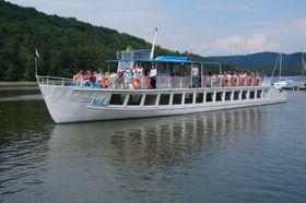 Loď Máj (Foto: Talmidavi, Wikimedia Commons, CC BY-SA 4.0)
