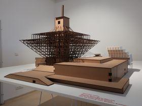 Modell des Rundfunkgebäudes in Bratislava (Foto: Jana Burczyk)