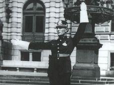 Dopravu kdysi řídili strážníci, foto: archiv Muzea policie ČR