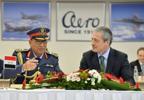 Faris Hasan Falah, Martin Stropnický, photo: CTK