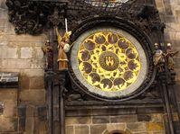 L'horloge astronomique de la tour de la Vieille-Ville, photo: Kristýna Maková