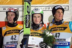 Larse Bystoel, Jakub Janda, Andreas Kuettel, photo: CTK