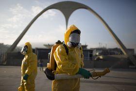 В настоящее время наиболее используемый метод борьбы с комарами рода Aedes - распыление инсектицидов, на снимке Рио-де-Жанейро. Фото: ЧТК