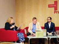 Presentación del libro de Anna Mur i Raurell, foto: Enrique Molina