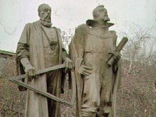 Monument to Tycho Brahe and Johannes Kepler in Prague