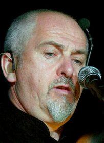 Peter Gabriel en Praga, foto: CTK