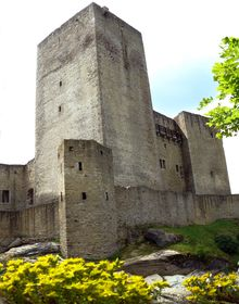 El Castillo de Landštejn, foto: Honza e Ivana Ebr, Panoramio, CC BY 3.0