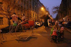 Жижковская масленица, Фото: Архив мэрии Праги 3