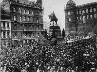 Le 28 octobre 1918, photo: CTK