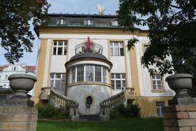 Villa im Prager Stadtteil Nusle, wovon ins Ausland ausgestrahlt wurde (Foto: Noemi Fingerlandová, Archiv des Tschechischen Rundfunks)
