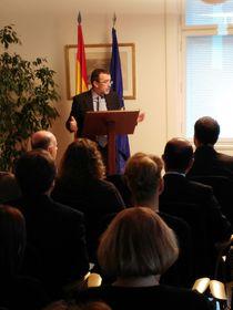 Ángel Lossada, el embajador de España en la República Checa, foto: Enrique Molina