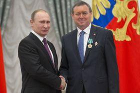 Владимир Путин и Иржи Машталка, Фото: ЧТК