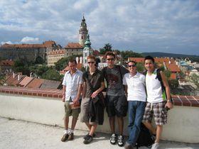 Touristen in Český Krumlov (Foto: michelhrv, CC BY-NC-ND 2.0)