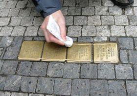 ´Stolpersteine´ (Foto: Stolpersteine CZ o.s.)