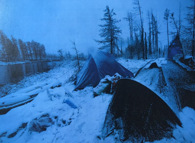 En Siberia,  foto: archivo personal de Daniel Mackerle