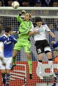 Viktoria Plzeň lost 3:1 to the German Bundesliga side Schalke 04 in overtime, photo: CTK