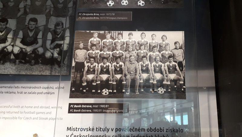L'équipe de Baník Ostrava en 1980, photo: Guillaume Narguet