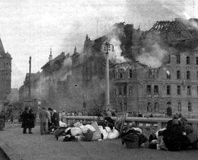 El 14 de febrero de 1945 en Praga