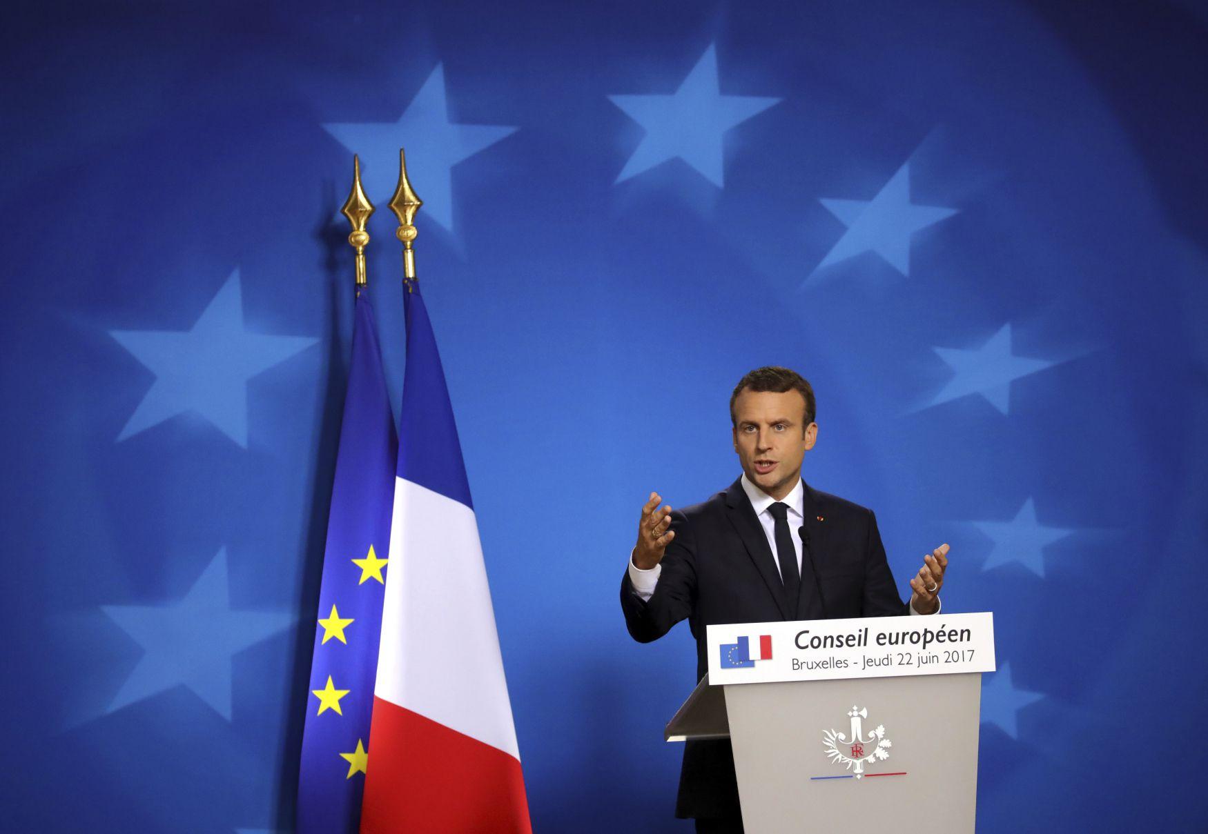 Macron Rede