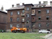 One of the buildings in the Přednádraží ghetto, photo: CTK