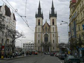 La plaza Strossmayerovo náměstí,foto: Chmee2, CC BY-SA 3.0