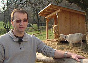 Richard Konrád, de la Unión de Criadores de Cabras y Ovejas. Foto: ČT24