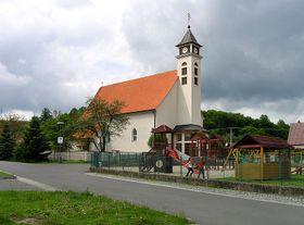 Kостел св. Иоанна Предтечи в Валашской Поланке (Фото: Packa, Wikimedia Commons, License CC 3.0)