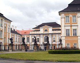 Château de Duchcov, photo: Archives de Radio Prague