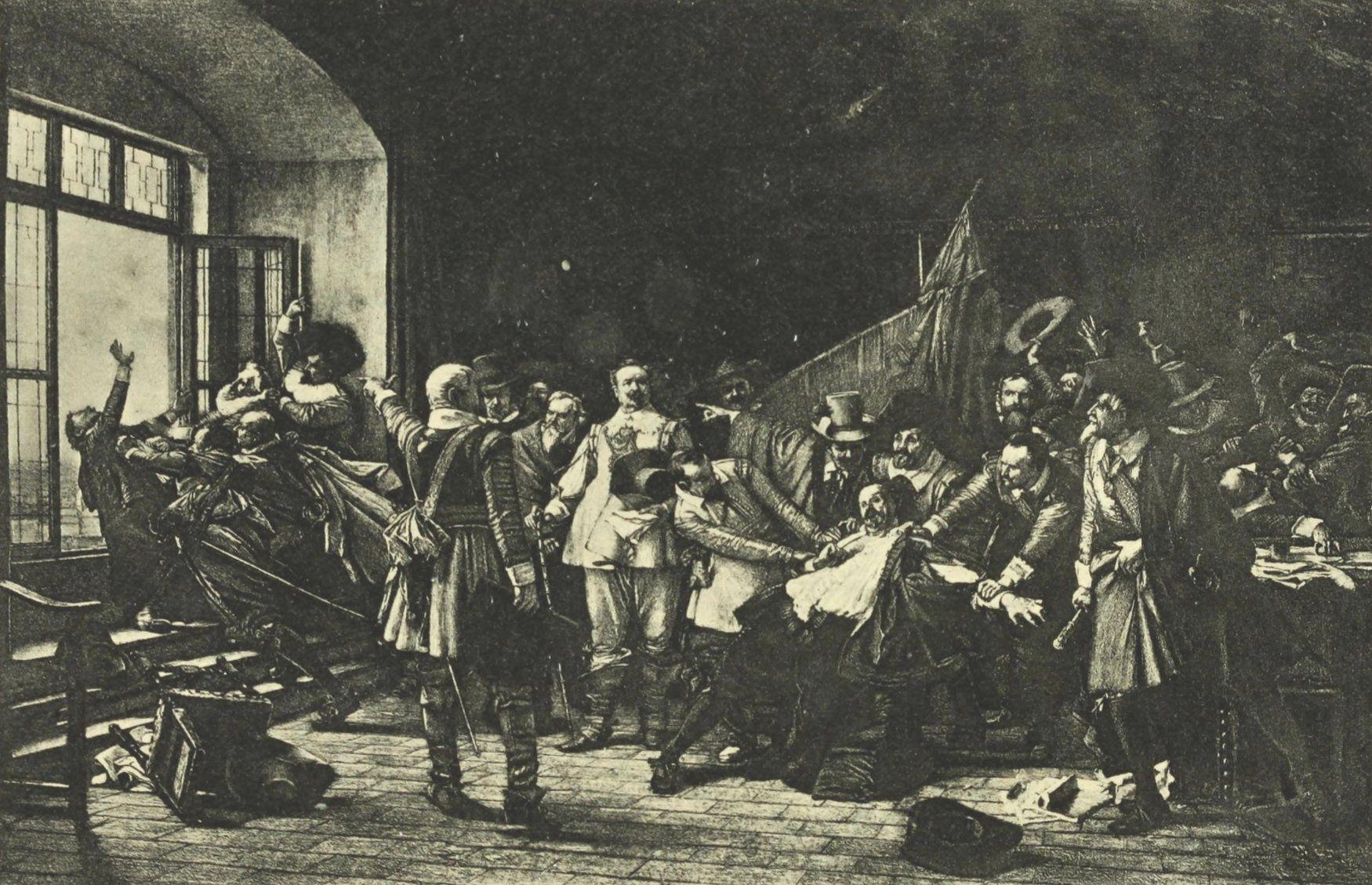 La defenestración de Praga de 1618 ...