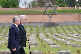 Joachim Gauck, Miloš Zeman, photo: CTK