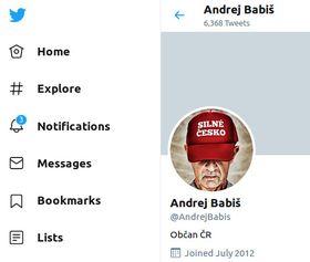Photo: Twitter officiel d'Andrej Babiš
