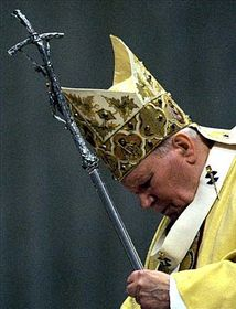 Papa Juan Pablo II. (Foto: CTK)