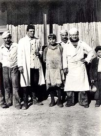 Концлагерь в Летах у Писка (Фото: Музей цыганской культуры Брно)