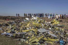 Absturz einer Boeing 737 Max 8 in Äthiopien (Foto: ČTK / AP / Mulugeta Ayene)