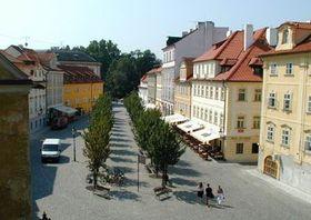 Мала Страна в Праге, август 2003 (Фото: Яна Шустова)