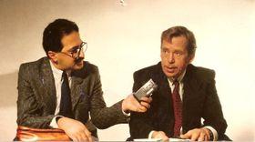Freddy Valverde y Václav Havel