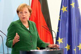 Canciller alemana Angela Merkel, foto: www.vlada.cz