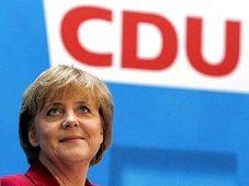 Předsedkyně německé Křesťanskodemokratické unie (CDU) Angela Merkelová, foto: ČTK