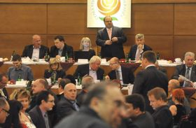 Comité Central de la Socialdemocracia, foto: ČTK