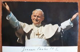 Le pape Jean-Paul II, photo: Archives de Loreta Vašková
