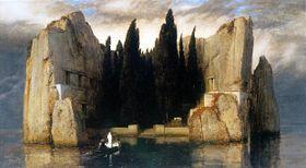 Arnold Böcklin, L'Ile des morts, 1880