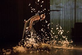 Germaine Acogny, 'Somewhere at the Beginning', photo: Tanec Praha