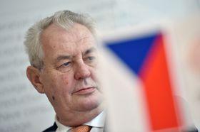 President Miloš Zeman, photo: ČTK