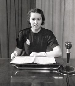 Announcer Bozena Danesova