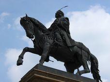 Pomník Jiřího z Poděbrad v Poděbradech, foto: Richenza, Wikimedia Commons, CC BY-SA 3.0