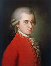 Krafft's iconic 1819 rendering of a young Wolfgang Amadeus Mozart, photo: Wikimedia Commons, Public Domain