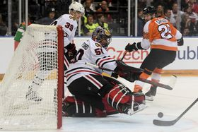 Philadelphia Flyers - Chicago Blackhawks (Foto: ČTK / Ondřej Deml)