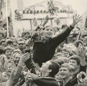 Первомайская демонстрация, Прага. Фото: Архив Радио Прага