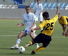 Slovan de Liberec y Beitar Jerusalén (Foto: CTK)