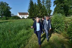 Richard Brabec et Andrej Babiš, photo: ČTK/Václav Pancer